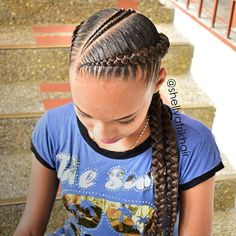 hairstyles going back hairstyles naija to cornrows braided hairstyles braided hairstyles for natural hair hairstyles boy hairstyles images hairstyles kinky twist hairstyles for 3 year olds Box Braids Hairstyles, Old Hairstyles, Kids Braided Hairstyles, Two Cornrow Braids, Hairstyles Videos, Cornrolls Hairstyles Braids, Braided Locs, Hairstyles 2018, Braids For Kids