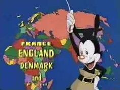"""animaniacs's lesson on geography.  Better than any version of """"I've been everywhere man."""""""
