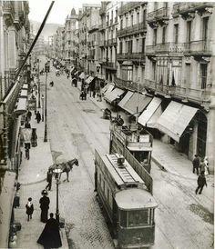 #Barcelona. Carrer Gran de Gracia,  any 1910. #Catalonia/Catalunya #Europe