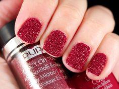 Crazy Crystals Urban Red #pupa #nailart #nails #beauty #crazycrystals