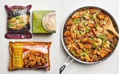 These Trader Joe's Meals Come Straight from the Freezer Aisle - Easy Dinner Recipes Trader Joe's, Trader Joes Food, Trader Joe Meals, Trader Joes Vegetarian, Weight Loss Meals, Freezer Meals, Quick Meals, Easy Dinners, Grilled Chicken Strips