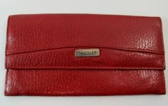 VINTAGE SADDLER DEEP RED LEATHER PURSE WALLET R11258 For more pictures of the same please visit any of my blogs: Tumblr  link   http://sangriasuzie.tumblr.com/ Wordpress blog link  http://sangriasuzie.org/ http://stores.ebay.co.uk/Sangriasuzies-Emporium http://www.sangriasuzie.com/ If any of the  items pictured in this blog/pin take your fancy they can be bought from one of the above addresses.  Or e-mail me at drobertshq@hotmail.com   if you need more info.