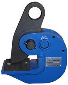 The Horizontal Plate Clamp is designed for lifting plate material in horizontal position. Heavy-duty steel construction for years of reliable use. Meets ASME B30.20 specifications. See chart below for specs. Available in 2,000, 4,000, 8,000, 10,000 Lbs Capacity.