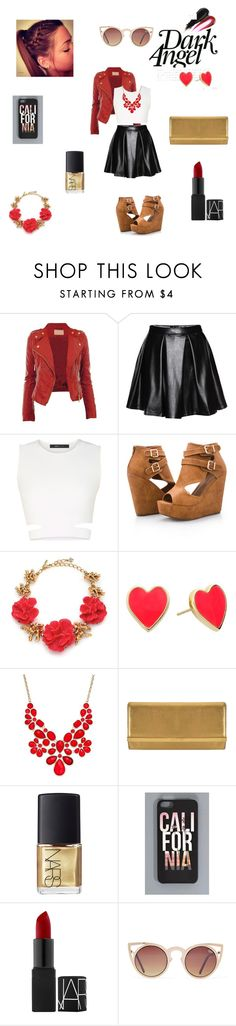 """Diva outfit"" by sushi-brain ❤ liked on Polyvore featuring BCBGMAXAZRIA, Ashley Stewart, Oscar de la Renta, Kate Spade, INC International Concepts, MICHAEL Michael Kors, NARS Cosmetics, women's clothing, women and female"