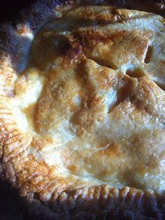Homemade Apple Pie Crust and Filling