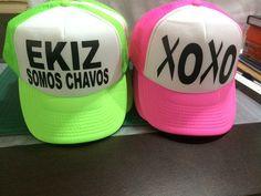 Gorras personalizadas en color neón by Eatbrains! Campeche 5d562658a58