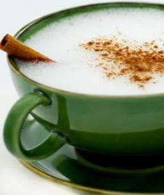 Hot Cinnamon Coffee    1 c. coffee  2 tbsp. ground cinnamon  2 tbsp. nonfat milk  1 tsp. brown sugar, if desired    Brew coffee of your choice. Mix in cinnamon and milk. Adjust to your liking. Add brown sugar if desired. Sprinkle with cinnamon.