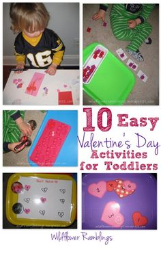 Tot School – Valentine's Day From Wildflower Ramblings