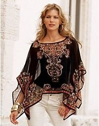 Paisley and sequins