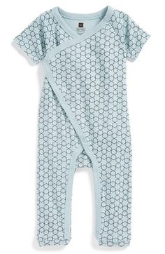 Tea Collection 'Little Star' Cotton Romper (Baby Boys) available at #Nordstrom