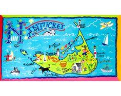 DESTINATION BEACH TOWELS   Cape Cod, Nantucket, Hamptons, Jersey Shore   UncommonGoods