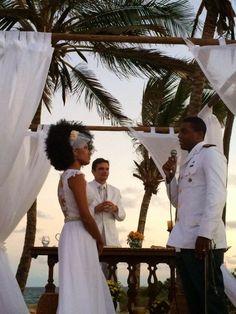 O Blog da Noiva Negra: Casamento Nanda Lisboa