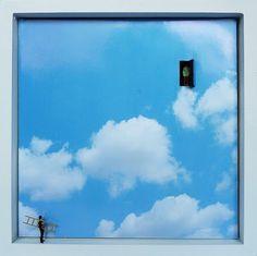 shadow box installations by Gatz