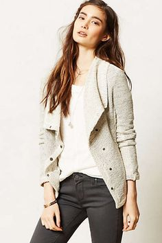 Anthropologie - Draped Moto Jacket