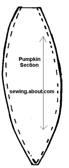 Pumpkin vine pattern. Use the printable outline for crafts