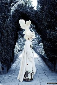White outfit (Dido Liu collection)