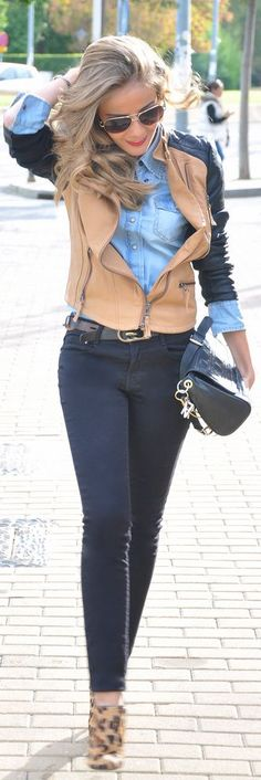 My #Biker by Te Cuento Mis Trucos. => Click to see what she wears