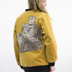 DFD Welcome To The Jungle Bomber Jacket   Weecos
