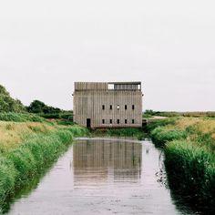 Mies van der Rohe Award shortlist 2017: Skjern River Pump Stations, Skjern, Belgium, by Johansen Skovsted Arkitekter