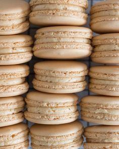 Salted Caramel Macarons - Bake or Bust