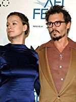 Johnny Depp and Samantha Morton at an event for The Libertine (2004)