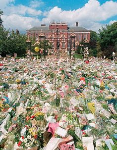 "mourning Princess Diana ~  Our newspaper simply said, ""We Lost Her."""