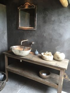 Bathroom Decor 31 Rustic Bathroom Decoration with Wood Material Touches 31 Rustikale Badezimmerdekoration mit Holz-Akzenten Rustic Bathroom Designs, Bathroom Design Luxury, Rustic Bathrooms, Dream Bathrooms, Boho Bathroom, Natural Bathroom, Minimal Bathroom, Bathroom Taps, Marble Bathrooms