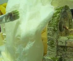 Construcción de un lavadero One Shoulder Wedding Dress, Wedding Dresses, How To Make, Christmas Crafts, Christmas Villages, Bricolage, Bride Dresses, Bridal Gowns, Weeding Dresses