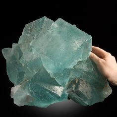 Lustrous Teal Spanish Fluorite from La Viesca. This and more important crystals for sale on CuratorsEye.com