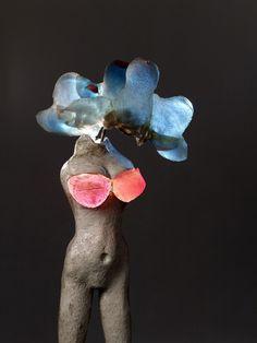 """Alina Szapocznikow, Illuminowana [Illuminated Woman], 1966–67, courtesy the Estate of Alina Szapocznikow, Piotr Stanislawski, Andrea Rosen Gallery, New York, and Galerie Loevenbruck, Paris. From Artsy's """"50 Must-See Fall Gallery Shows"""""""