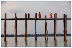"""""""3 monks on the bridge"""" by Gil Kreslavsky"""