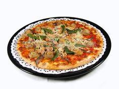 Pizza cuatro estaciones - Diabetes