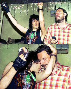 The Mighty Boosh: Vince and Howard (Noel and Julian). British Humor, British Comedy, Toast Of London, Julian Barratt, I Want A Baby, The Mighty Boosh, Noel Fielding, Through Time And Space, Fantasy Male