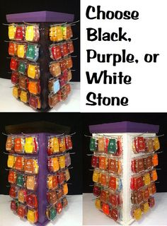 Scentsy display by on Etsy Lush Shop, Vendor Table, Vendor Displays, Scentsy Independent Consultant, Jewelry Candles, Wax Warmers, Car Storage, Garage, Organization