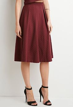 dot patterned midi skirt forever 21 canada