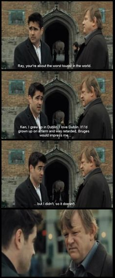 In Bruges, horrible swearing and hard to watch but still a great movie.