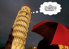 Le drôle de penchant de la Tour de Pise