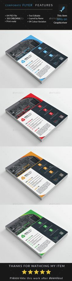 Corporate Flyer Template PSD. Download here: http://graphicriver.net/item/corporate-flyer/15336618?ref=ksioks