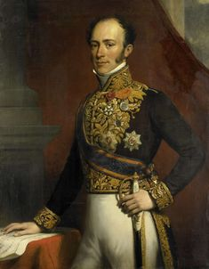 Portrait of Jan Jacob Rochussen, Governor-General of the Dutch East Indies. 1845