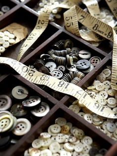 Lovely old buttons My craft room inspiration