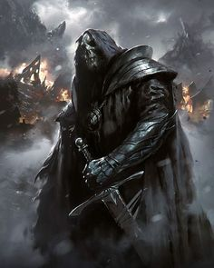 """Calvary Knight Sword Name Teijel meaning Devil"