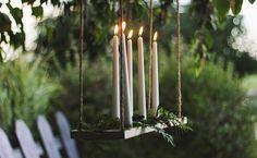 Un chandelier suspendu DIY - En matière de DIY, sur Shake My Blog, il y en a pour tous les goûts ! Aujourd'hui histoire d'étoffer un peu plus notre sélection, nous vous proposons de dé