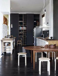 Black kitchen. *****櫃子
