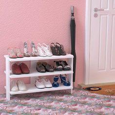 Detayları Göster House Line Alina 3 Raflı Ayakkabılık (75 cm) - Beyaz