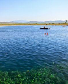 Laguna de la Media Luna, San Luis Potosí, México. Vía Ideas de viaje | viajes + estilo + vida