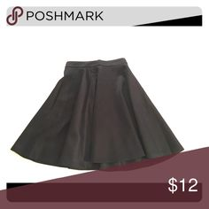 Black Skater Skirt This skater skirt has a great shape and hits just above the knee. Never worn, but no tags. Skirts Circle & Skater