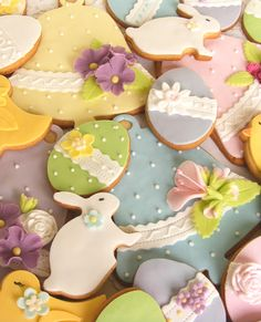 Lovely Easter cookies.