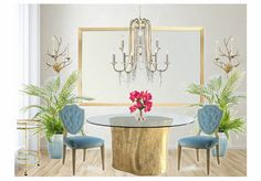Check out this moodboard created on @olioboard: statement lighting dining room…