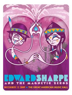 GigPosters.com - Edward Sharpe & The Magnetic Zeros