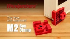 From Woodpeckers, the Box Clamps. There like Having an Extra Pair of Hands. With our Box Clamps you can glue-up or dry-fit any joint quickly a. Woodworking Tools For Sale, Essential Woodworking Tools, Woodworking Organization, Unique Woodworking, Woodworking Basics, Woodworking Patterns, Woodworking Workbench, Woodworking Workshop, Easy Woodworking Projects